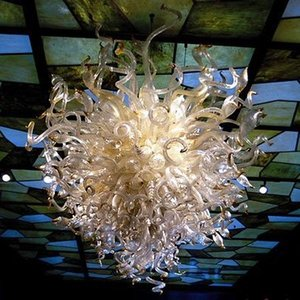 Free Shipping 100% Mouth Blown Borosilicate Murano Glass Ceiling Light Art Excellent Pendant Moroccan Ceiling Lights