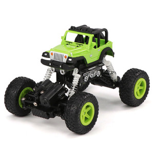 Charging remote control car four-wheel drive off-road vehicle crash resistant high-speed climbing car electric toys for kids