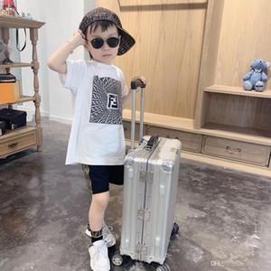 2020 neue Sommer-Junge-T-Shirt Mode-Druck-Kinder-T-Shirt für Junge Baumwolle Kurzarm-Baby-T-Shirt Kinderkleidung Marke