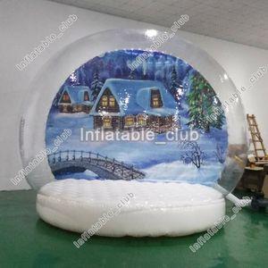 Globe Globe Werbung Versand Schnee Verkauf Customized Inflatable Weihnachtsschnee-Free For Menschen Yard Mit Globes Für Blower Ufsdu