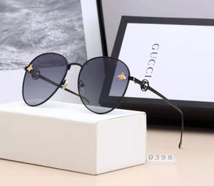 Brand Design Sunglasses women men Brand designer Mirror Good Quality Fashion metal Oversized sunglasses vintage female male UV400