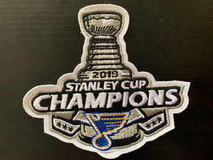 2019 Stanley Cup Champions Blues Jerseys # 50 Binnington # 91 Tarasenko # 90 O'reilly Jersey Blu Blu Navy Colore S-XXXL Con Champions Patch