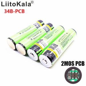 2020 Original Liitokala 18650 3400mah NCR18650B 3.7 V 3400 MAH 18650 Pile rechargeable au lithium pour piles de la lampe de poche