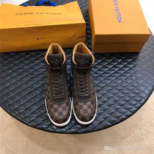 louis vuitton LV Üst Kalite Erkekler Dantel-up Lüks Phantom Lo-Üst Malzemeler Herren Schuhe Moda Tipi Kauçuk Taban Erkekler Ayakkabı Moda Luxury Shoes
