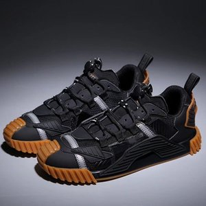 New men and women NS1 SNEAKERS IN MIXED MATERIALS shoes men and women sneakers fashion top quality size 35-45 juk02