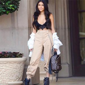 Kadınlar Casual Harem Baghee Hip Hop Dans Bilek Bantlı Pantolon Pantolon Pantolon Sweat