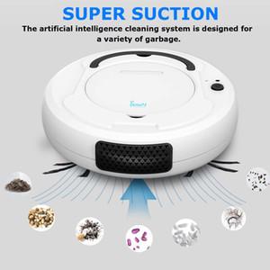 -1800Pa robot süpürge Fonksiyonlu Akıllı Zemin Temizleyici, 3-in-1 Otomatik Şarj edilebilir Kuru Islak Süpürme temizleyici