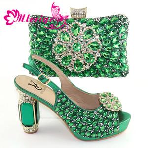 Set di scarpe e borse per donna Set di scarpe da donna con borse abbinate Set di scarpe e borse per matrimonio da matrimonio in Italia Set di scarpe e borsa Slip-On