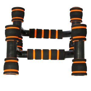 I-shaped Fitness Push Up Bar Push-Ups Stands Bars Tool For Fitness Chest Training Exercise Sponge Hand Grip Trainer