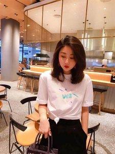 2020 Hot sell Womens Designer T Shirt women Printed Short SleeveTee for Summer Men's Women's Tshirts Casual Shirts