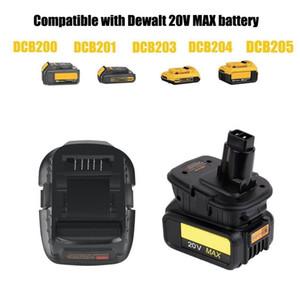DCA1820 DCB200 adaptador 18 / batería de 20V 18V MAX Para el uso de herramientas Nicad de edad (adaptador solamente)