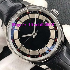 VS Factory Luxury Mens Watch Swiss 8500 Automatic Mechanical 28800 vph CNC Stainless Steel Casual Watch Sapphire alligator leather strap