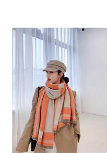 estilo clásico de invierno de alta calidad de la cachemira bufanda bufanda impresa a gran celosía, de paño de lana de alta calidad 180 * 65cm