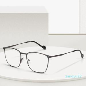 Titanium Alloy Glasses Frame For Men Women Reading Myopia Eye Glass Prescription Eyeglasses Optical Full Frames Eyewear