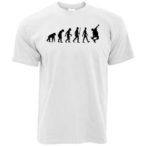 Interessant zu drucken Männer Evolution Skateboarder Skate Board Räder Trucks Tape Ramp Entworfene Männer beliebte T-Shirt