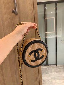 Borse borse da donna 2020 Bag Small rotonda catena rotonda Nuovo design di lusso Oblique Giapponese Coreano piccoli fiori profumati Rhombus Moda