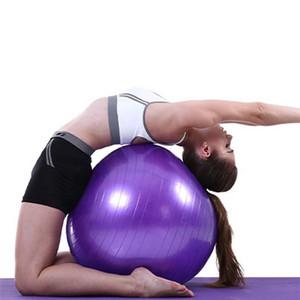اليوغا الكرة 65CM الانفجار مضاد الجودة الفنية تصميم بيلاتيس اليوغا ممارسة الكرة مع مضخة السريع للياقة البدنية، نادي رياضي والاستقرار والتوازن