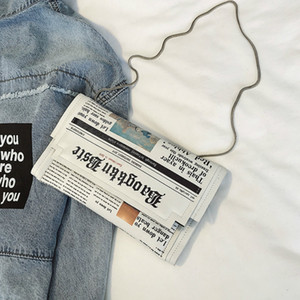 Joker Messenger Bag catena borsa a spalla di personalità delle donne Piccola Piazza Moda Giornale Notizie Styling Borse all'ingrosso Bolso Mujer