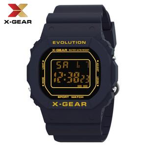 X-GEAR 2019 Homens Relógios Moda Super Clássico Digital Assista Unisex Masculino relógio de pulso Retângulo Crianças Relógios de Desporto