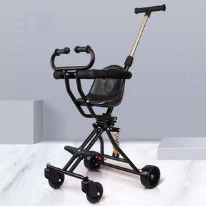 Kidlove Baby Stroller portátil dobrável Choque absorvente respirável Baby Stroller