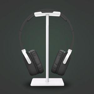Nuovo Bee moda Display cuffia Holder stand Auricolare staffa Earbud gancio in metallo e Soft TUP per la cuffia nera