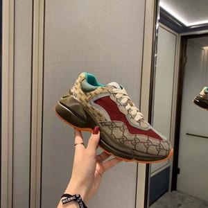 Gucci Tasarımcı ayakkabı baskılı Retro Ayakkabılar terlik basketbol hava platformu sandalet kanye üçlü bağ bozumu espadrilles sandal slaytlar 2020 yeni, k02
