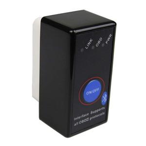 스위치 느릅 나무 327 OBD 2 OBDII 코드 리더 스캐너 슈퍼 PIC18F25K80 칩 미니 ELM327 블루투스 V1.5 OBD2 진단 도구