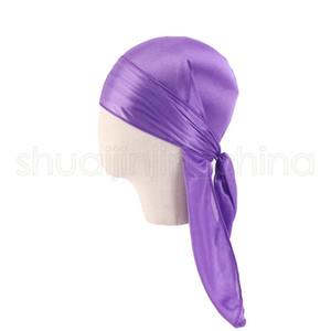 Partido Bebé Criança Long Tail Headband de seda respirável Bandanas Turban Hat moda infantil Headwear acessórios de cabelo TTA1017