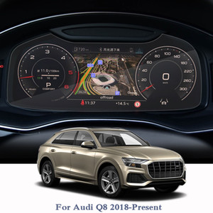 Стайлинга автомобилей GPS Навигация Экран Пленка Для Audi A8 2018-Present Панель приборов Стекло Дисплея Экран Пленка Климат-контроль Внутренний Аксессуар