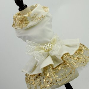 BF1170 Vestido Dog Universal Princess Dress Roupa Pet Supplies confortável Wedding Dog Dress Pet saia Pet