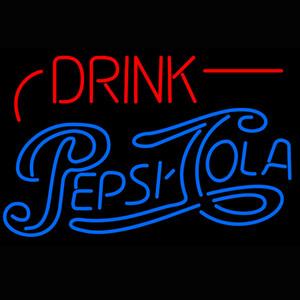 Boire Pepsi Cola Neon Light Sign Publicité Led Light Panel Livraison gratuite en gros 20