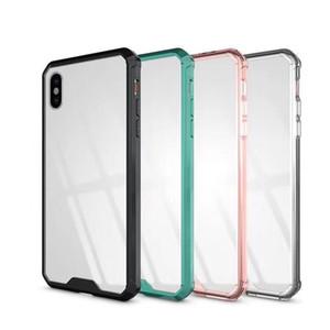 Rüstung Transparent Clear Air Hybrid Telefonkasten Für iPhone 6 7 8 Plus X XS MAX Samsung Hinweis 9 S8 S9 A8 2018 MOTO E5 G6 Plus TPU Stoßstange Abdeckung