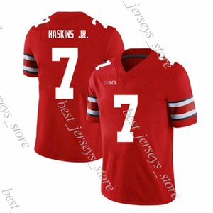 NCAA Ohio State Buckeyes maillot de football 7 Dwayne Haskins Jr. 97 Nick Bosa Rose Bowl 2018-2019 New Jersey chaud
