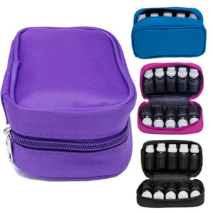 10 Bottle Essential Oil Carrier 10ML 15ML Holder Storage Aromatherapy Hand Bag