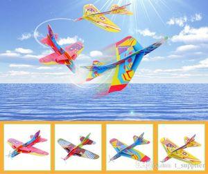 MixColor Süper Kanatları Uçan Planör Uçaklar Uçak Parti Çanta Dolgu Çocuk Çocuk Oyuncakları Oyunu Ödüller Hediye Modeli c006