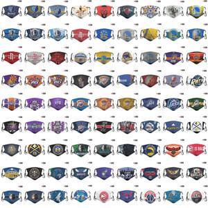 DHL erkek ve kadın All-Star basketbol takımı basketbol maske maske PM2.5 maskesi pamuk maskeleri nakliye
