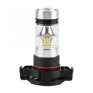 2pc 100W H16 3030 20 LEDs Frente LED Nevoeiro Car Luzes Lamp Lâmpadas 1000LM Drving Lâmpada Luz Day-Duração Lâmpada motocicleta Head Lamp Branco