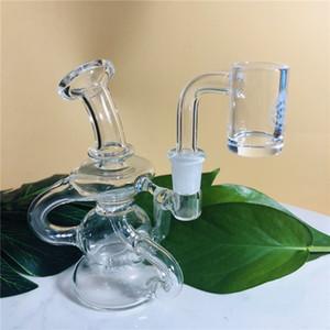 Coletor de vidro pequeno e popular de vidro com recursos incríveis. Conector Difusor de 10 mm embutido de tubo de sonda (GB-460)
