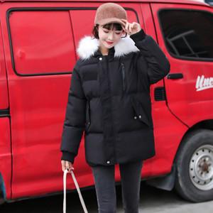 Wholesale-Winter Jacket Women new arrival Hooded Cotton Padded Female Winter Coat Outwear New Warm Coat Women Jacket