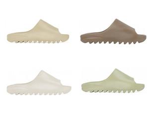 2020 Обувь Слайды Летний пляж Крытый плоский G сандалии Slide Bone RESIN EATRH BROWN SAND DESERT Тапочки Дом Вьетнамки Spike сандалового