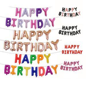 Mixed Gold Confetti Balloons Birthday Party Decoration Kids Adult Metallic Balloon Air Ball Set Birthday Ballon Decor 1 set