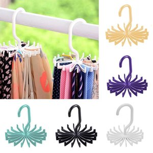1 Pack 360 Degree Rotating Twirl Tie Rack Adjustable Tie Belt Hanger Holder Hook Ties For Closet Organizer Storage