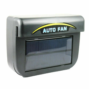 High Quality Car Auto Fan Air Black Solar Energy Vent Cool Cooler Ventilation System Purify Air Radiator Car Window Cooling Fans