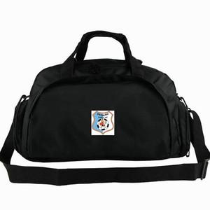 Pandurii spor çantası Targu Jiu kulübü tote Romanya Futbol sırt çantası Egzersiz bagaj Futbol spor omuz duffle Açık sling paketi
