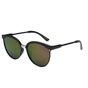 5 Colors Fashion Classic Mirror Circle Glasses UV-resistant Round Metal Frame Sunglasses Eyewear for Men Women Outdoor Eyewear