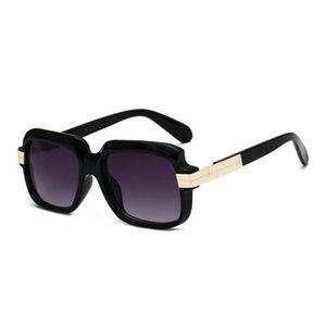 Luxary- MINCL / 2019 Nueva moda para mujer gafas de sol cuadradas de gran tamaño Mujeres Cool Big Rivet Frame Goggle Gafas de sol para mujer UV400 NX