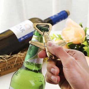 Antik Hava Uçak Uçak Şekli Şarap Bira Şişe Açacağı Metal Açacakları Düğün Parti Hediye Için Şekeri