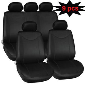 9 pièces kongyide automobiles Seat Covers universelle unique filet, sans filet éponge imbibée voiture Seat Cover Pad Mat protection automatique Jun27