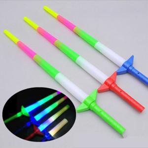 Glow Stick LED tiges colorées LED Clignotant épée acclamant fête Disco Light Stick Music concert Party Supplies Cheer ZZA1319 60pcs