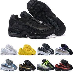 nike air max 95 shoes Toptan Erkekler Womens Üçlü Beyaz Siyah Koşu Ayakkabıları lüks erkek Güneş Kırmızı Neon Sarı Üzüm Spor Açık Koşu Eğitmeni Sneaker Ayakkabı